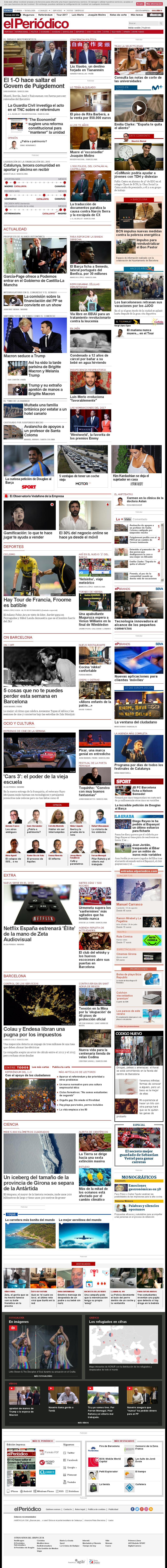 El Periodico at Friday July 14, 2017, 4:12 a.m. UTC