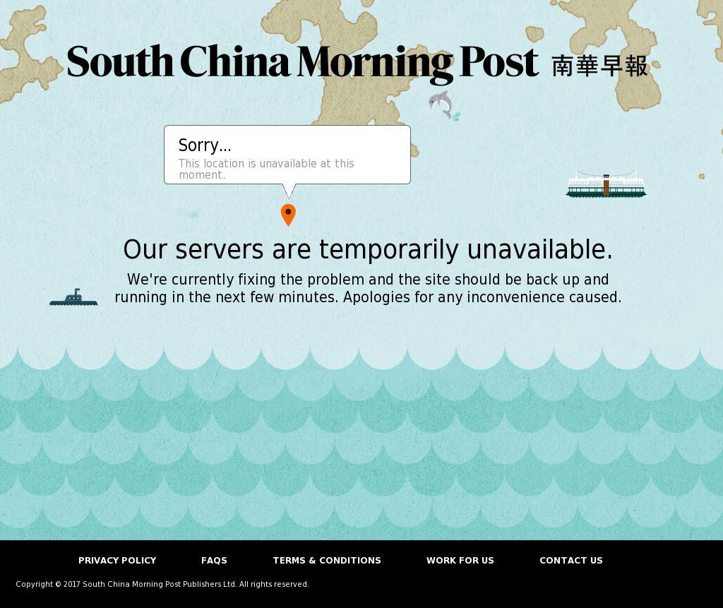 South China Morning Post at Tuesday Sept. 12, 2017, 2:19 a.m. UTC