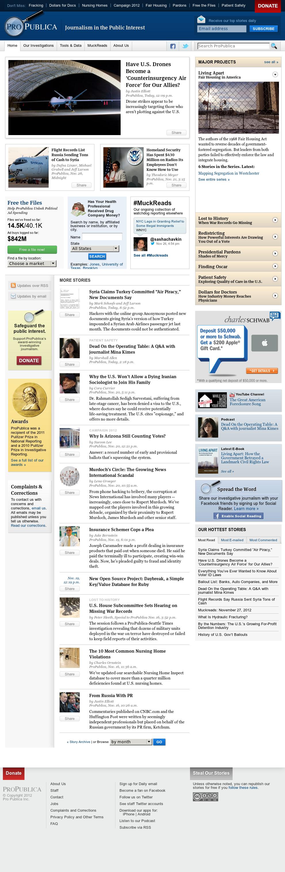ProPublica at Wednesday Nov. 28, 2012, 3:31 a.m. UTC