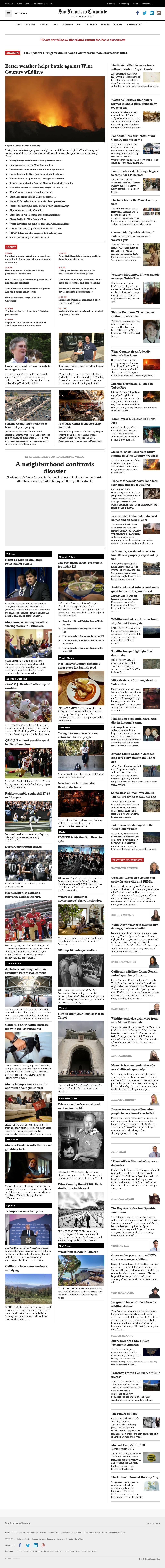 San Francisco Chronicle at Monday Oct. 16, 2017, 5:13 p.m. UTC