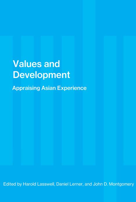 Values and development : appraising Asian experience by